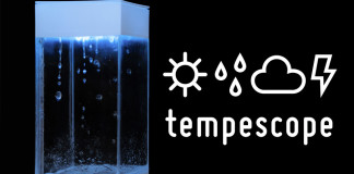 Tempescope, ambient physical display