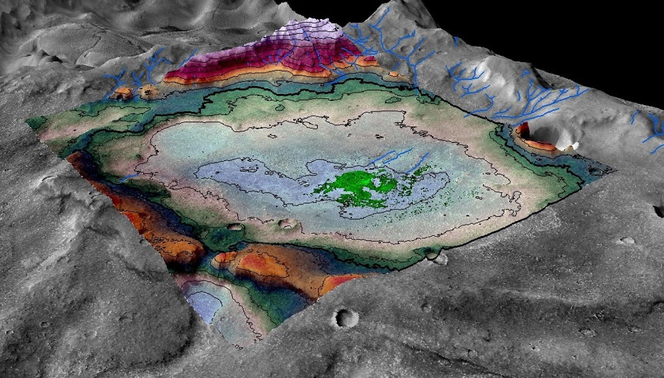 Saline su Marte