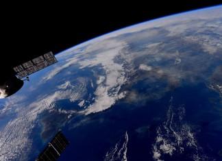 Foto realizzata da Samantha Cristoforetti sulla ISS.