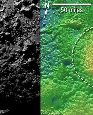 Wright Mountain, Pluto