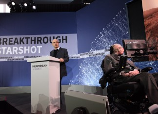 Yuri Milner And Stephen Hawking announce Breakthrough Starshot
