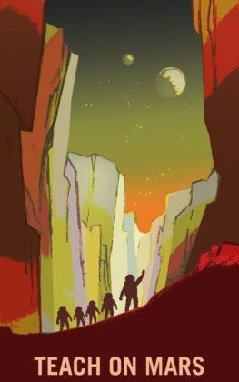 Insegnanti su Marte
