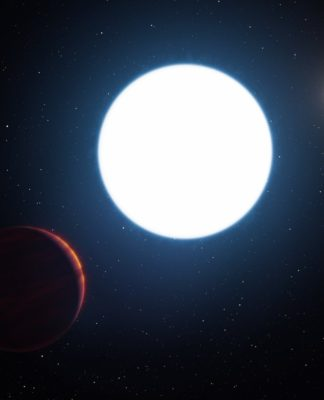 Artist's impression of planet in the HD 131399 system