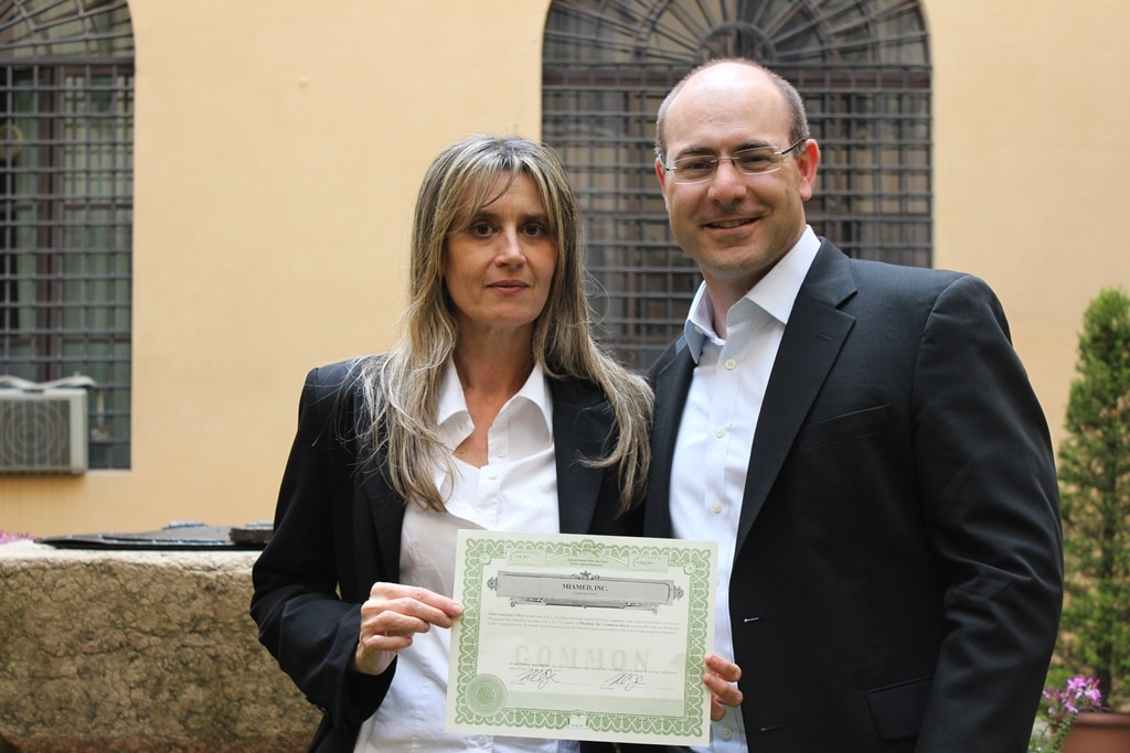 Mia-Med - Elisabetta Ciani e Michael (Mike) Jasulavic