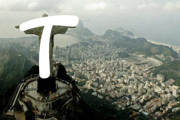 T letter for Rio 2016