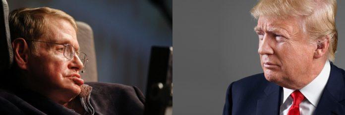 Hawking vs Trump