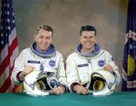 Original Gemini 9 Prime Crew
