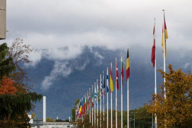 CERN Flags - Meyrin