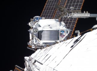 AMS on ISS