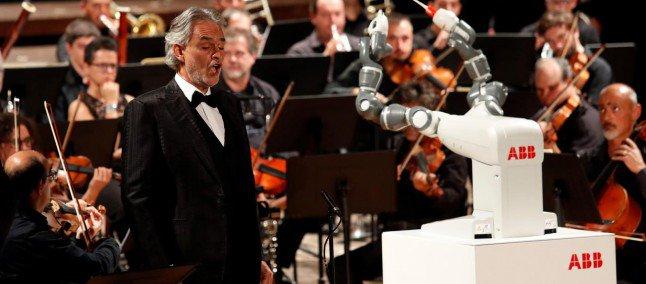 YuMi e Andrea Bocelli