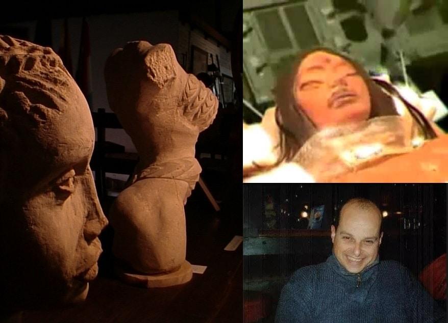 Alien Mona Lisa di Thierry Speth