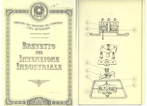Il brevetto di Sicury