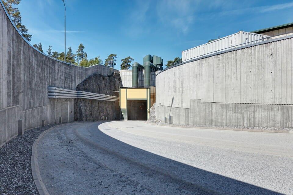 Ingresso del tunnel di Onkalo
