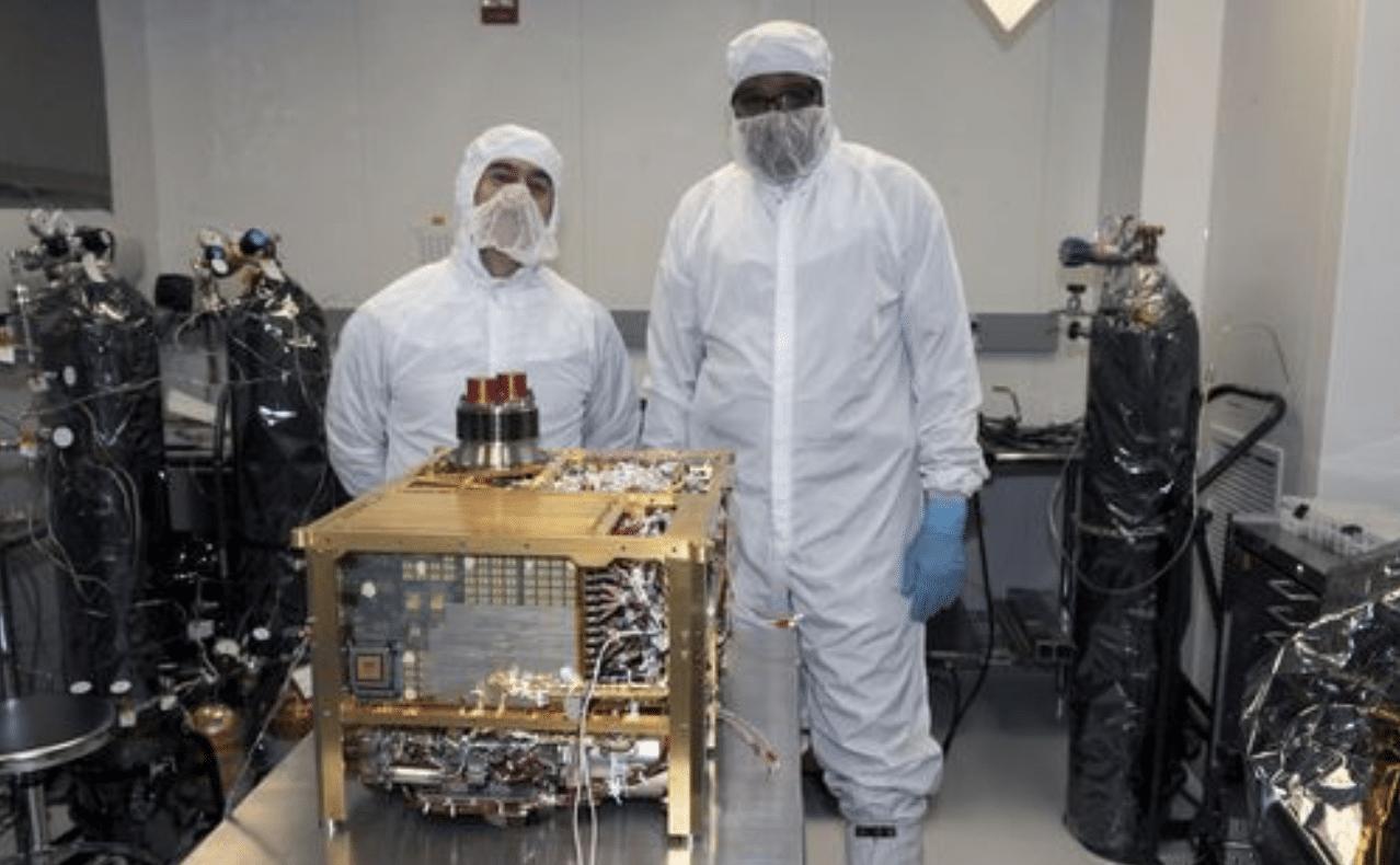 SAM di Curiosity per Marte