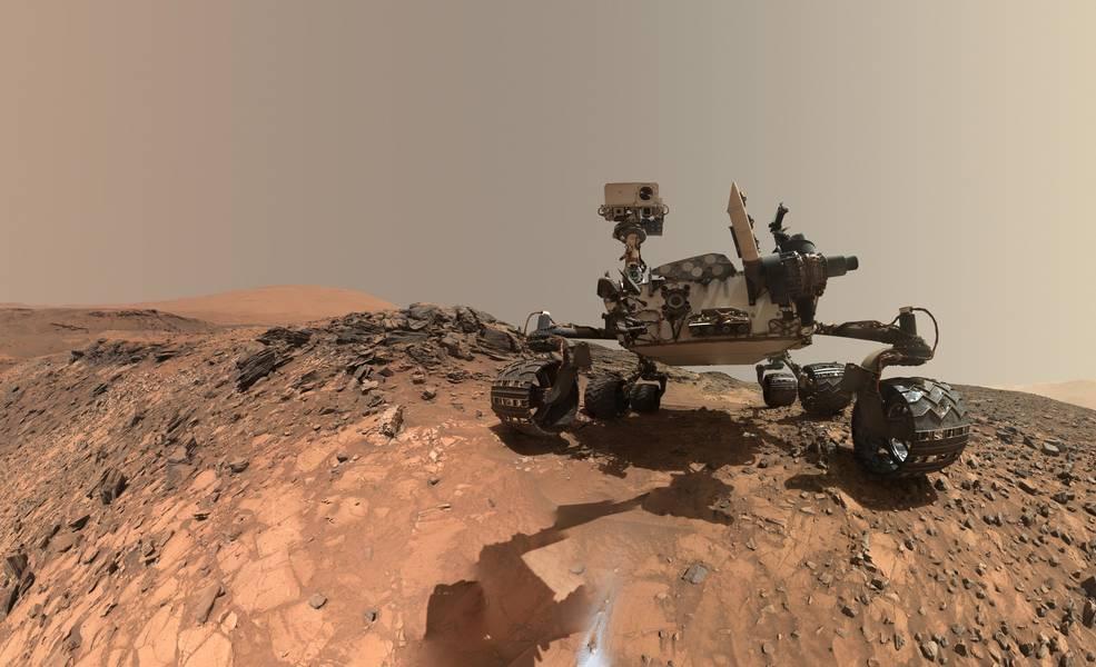 Rover Curiosity su Marte