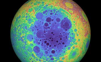 lato oscuro Luna