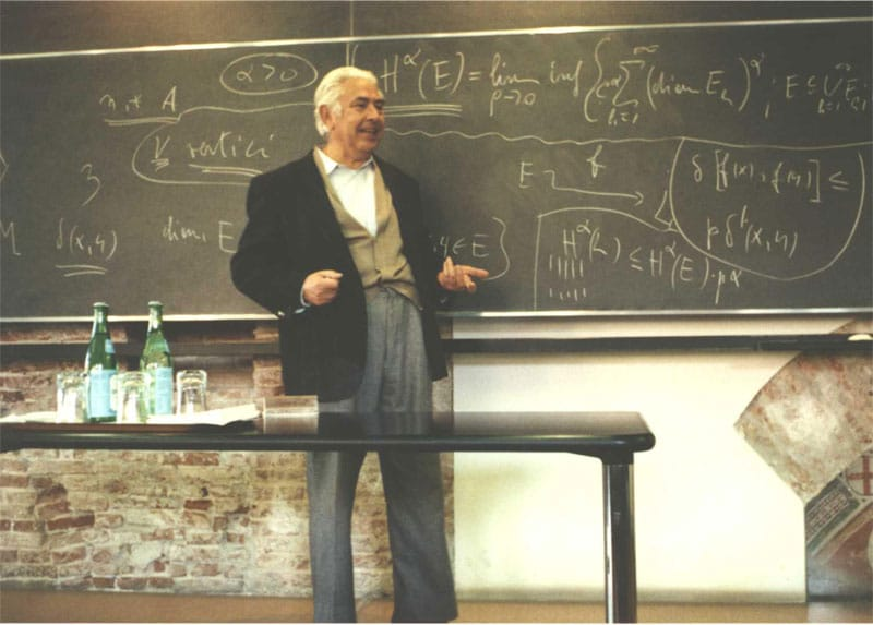 Ennio De Giorgi, assente ingiustificato del film A Beautiful Mind