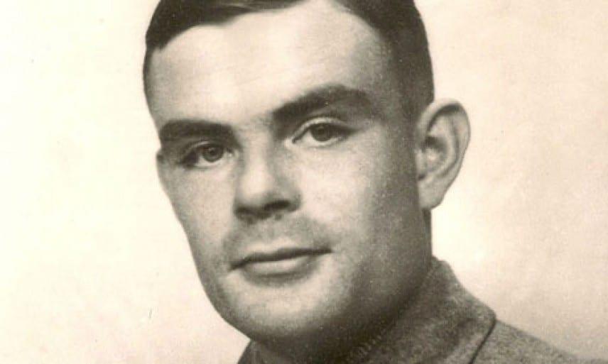 Ritratto di Alan Turing, nuovo volto della banconote da 50 sterline