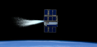 Satelliti alimentati ad acqua - CubeSat, crediti: NASA