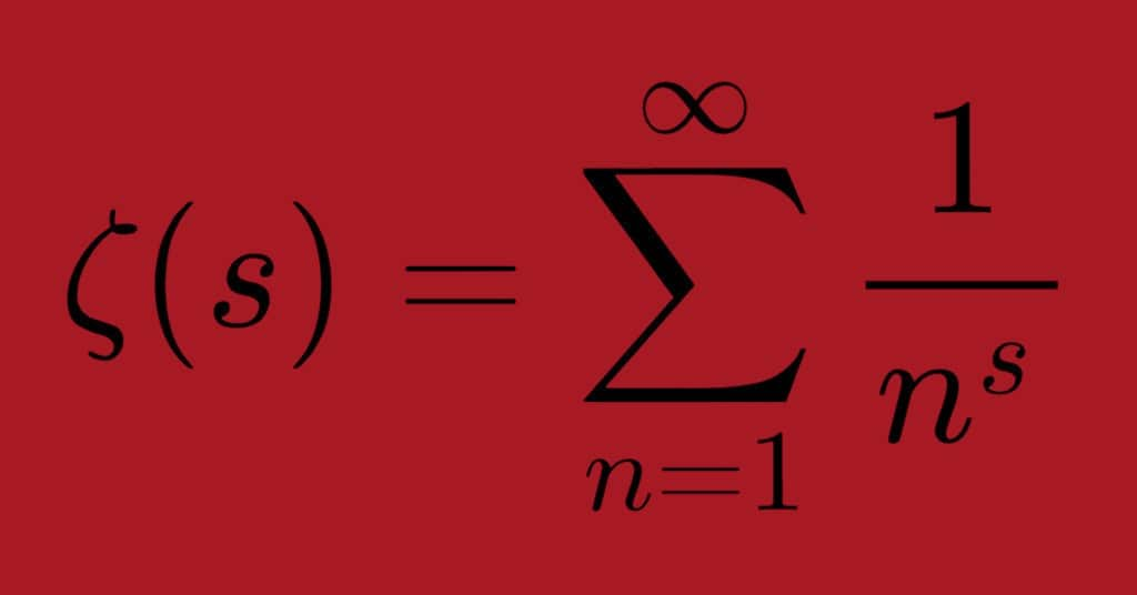 La funzione zeta di riemann