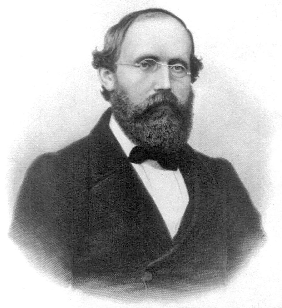 Riemann, matematico famoso per la sua ipotesi