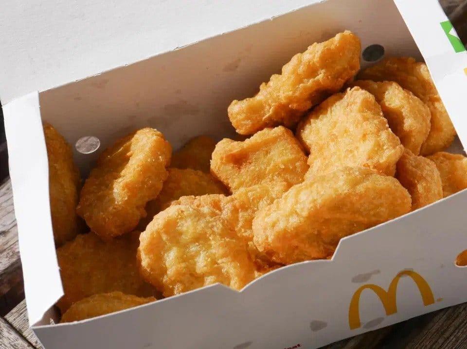 Chicken McNuggetts McDonald's
