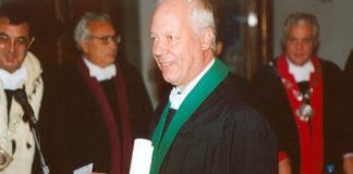 Enrico Bombieri, primo italiano a vincere il premio craaford