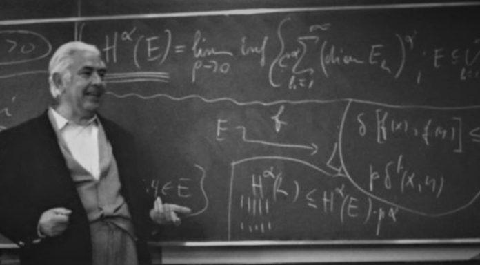 Il matematico leccese Ennio De Giorgi