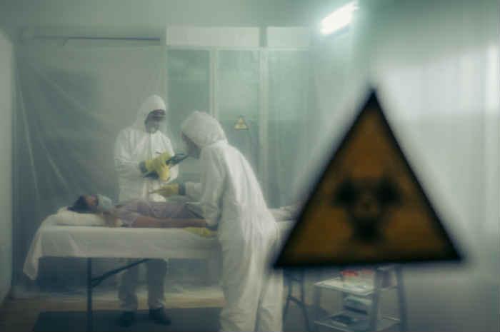 coronavirus studio ritirato