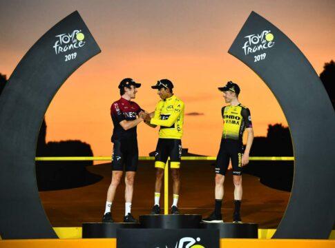 Premiazione Tour de France 2019