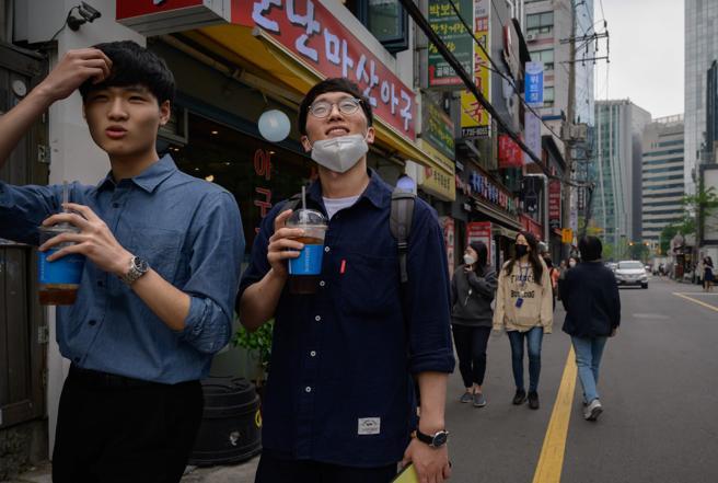 Seoul, Sud Corea, post Covid-19