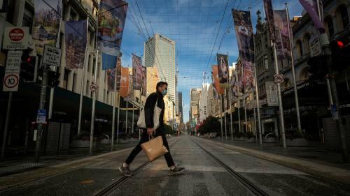 Melbourne, Australia, lockdown Covid-19