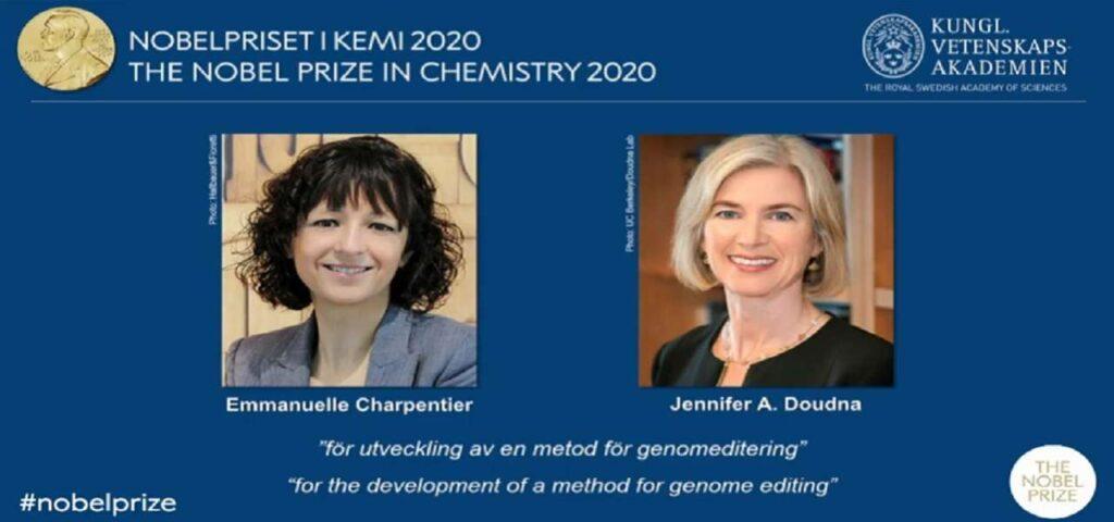 Nobel chimica 2020 CRISPR-CAS9