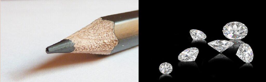 carbonio grafite diamante