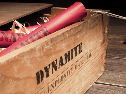 Le dirompenti (e casuali) scoperte di nitroglicerina e dinamite