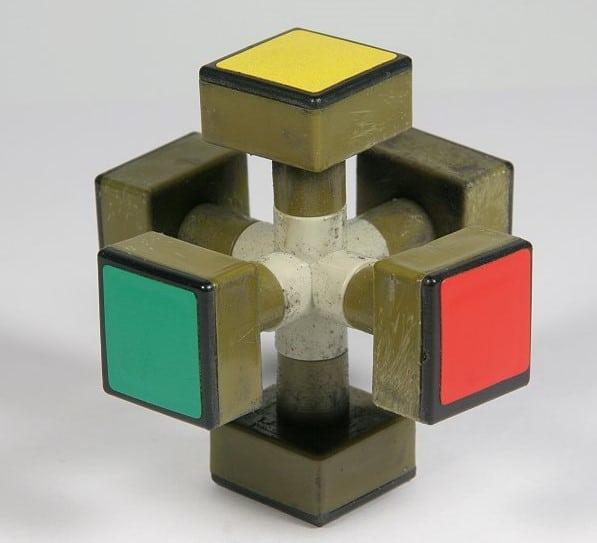 meccanismo interno del cubo di rubik