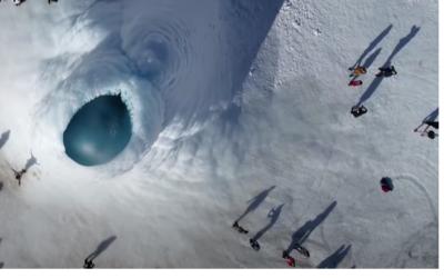 Vulcano di ghiaccio, una meraviglia nella steppa del Kazakistan