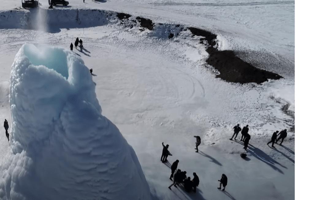 Vulcano di ghiaccio