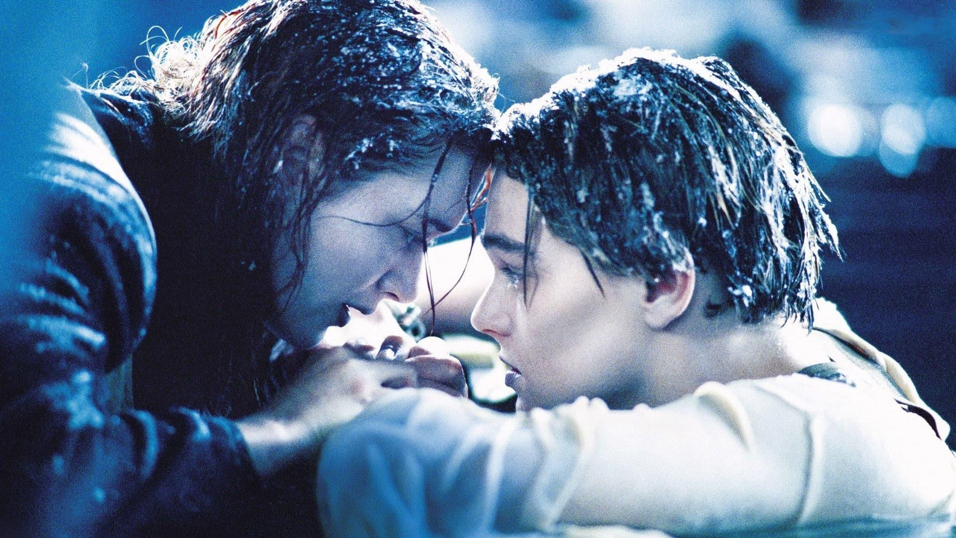 jack e rose sulla zattera del titanic