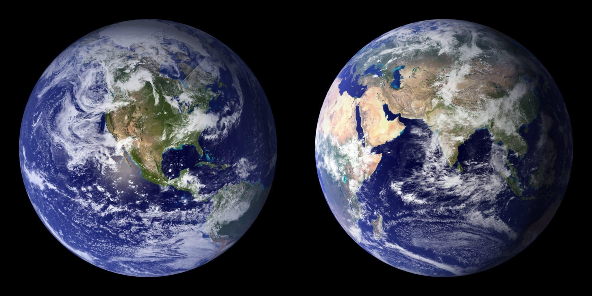 Vista della Terra.