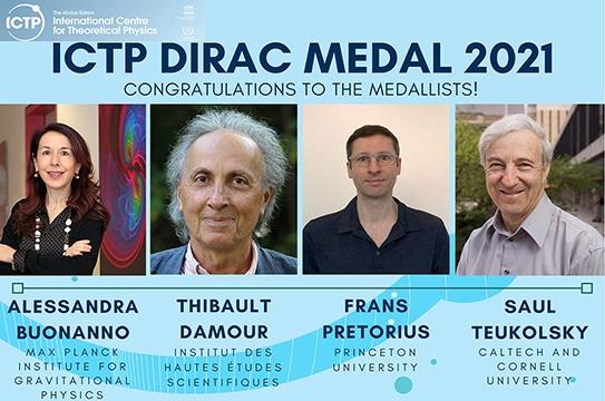 Medaglia Dirac 2021